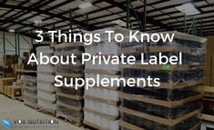 There are a lot of reasons why companies choose to private label, here are 3 things you should know before you do. Learn why you should private label here. 3 Things, Things To Know, Private Label, Hustle, Nutrition, Business, Hustle Dance