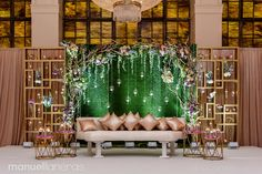 View Pictures from our Traditional Receptions Reception Stage Decor, Wedding Stage Backdrop, Wedding Stage Design, Reception Backdrop, Engagement Stage Decoration, Wedding Stage Decorations, Backdrop Decorations, Indian Wedding Stage, Outdoor Indian Wedding