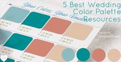 Wedding Color Palette: 5 Best Resources | Emmaline Bride®