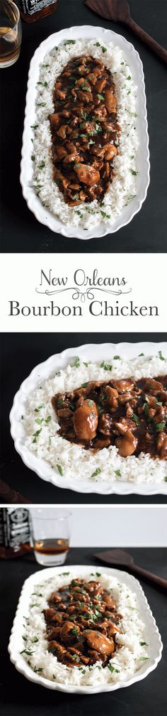 Straight off of Bourbon Street in New Orleans, this tender bourbon chicken is covered in a slightly sweet sauce with a little kick. It's a true taste of the South you won't be able to resist.