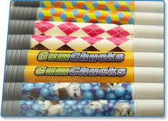 New exciting Gumchucks for Funner Flossing!