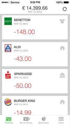 Online Banking App Features - Numbrs