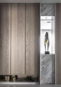 Interior Design Inspiration, Home Interior Design, Interior Decorating, Tv Wall Design, Shelf Design, Lobby Interior, Interior Walls, Shelf Furniture, Furniture Design