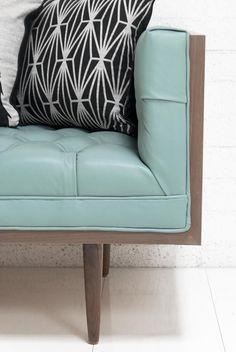 Neutra Sofa in Dreamer Aqua