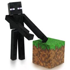 This is the Minecraft Core Enderman action figure. We are huge fans of the…