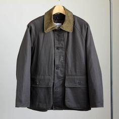 YAECA - Oiledcloth Field Jacket #olive oil