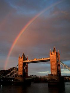 Rainbow Over Tower Bridge - London, England The Places Youll Go, Places To See, Tower Bridge London, London United Kingdom, England And Scotland, London Photos, London Calling, Samsung, Adventure Is Out There