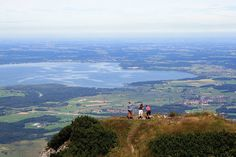 On the top - over the Chiemsee / Bavaria - Germany