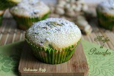Muffin al Pistacchio.. una merenda golosa