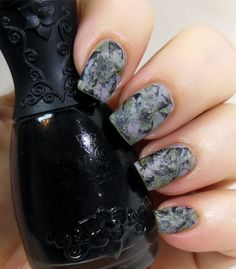 Grunge matte from Did my nails.