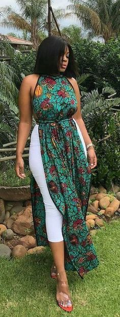African print modern designs, African fashion, Ankara, kitenge, A. African Fashion Ankara, African Fashion Designers, Ghanaian Fashion, Latest African Fashion Dresses, African Dresses For Women, African Print Dresses, African Print Fashion, Africa Fashion, African Attire