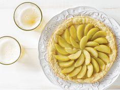 Beer-Poached Apples and Cinnamon Cream Tart recipe | DRAFT Magazine