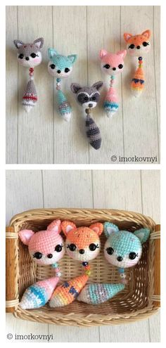 Amigurumi Fox Pendant Keychain Free Crochet Pattern Crochet Amigurumi Fox Pendant Keychain coolcreativityfreepattern easycrochetpattern freecrochetpatterns croc You are in the right place about crochet amigurumi free patterns Here we offer you the Crochet Easter, Crochet Bee, Crochet Dragon, Cute Crochet, Crochet Keychain Pattern, Crochet Amigurumi Free Patterns, Crochet Blanket Patterns, Crochet Fox Pattern Free, Crochet Afghans