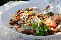sommersalat Food Inspiration, Cabbage, Tacos, Mexican, Vegetables, Ethnic Recipes, Salad Ideas, World, Food Food