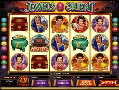 "★★★GAME SLOT LEMACAU"" JEWELS OF THE ORIENT VIDEO "" ★★★"
