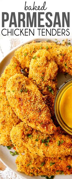 Juicy, crispy Baked Parmesan Crusted Chicken without the hassle or mess of frying! It's exploding with flavor and a golden crunchy, cheesy crust! #bakedchicken #chickenrecipes #chicken #chickentenders #Parmesan #Parmesanchicken #dinner #dinnerrecipes #dinnerideas #recipes #easyrecipe #recipes #recipeoftheday #recipeideas #recipeseasy  via @carlsbadcraving Best Chicken Recipes, Turkey Recipes, Beef Recipes, Vegan Recipes, Cooking Recipes, Walnut Recipes, Easy Dinner Recipes, Great Recipes, Easy Meals