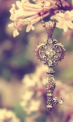 He who finds her with this key in hand has the power to unlock her heart (that's been frozen for centuries)...