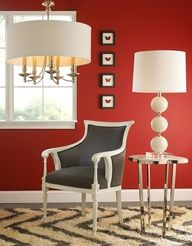 Red draws you in, enlivens you and raises your spirit!