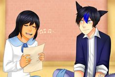 Harmony is the process of adding another musical note on top of the melody of any song. If you want to harmonize, you should learn how to sing harmony. Singing harmony can create a unique effect to enhance the piece of music. Aphmau Ein, Phoenix Drop High, Aphmau Youtube, Aphmau Characters, Aphmau And Aaron, Cute Potato, Aphmau Fan Art, Vocal Exercises, Kpop Drawings
