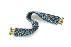 Free tutorial from Eureka crystal beads.  Superduos