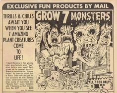 Monsters | 15 Enticing Vintage Comic Book Ads