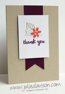 February 2016 Hello Sunshine Paper Pumpkin alternative card idea by Julie Davison www.juliedavison.com #paperpumpkin #stampinup