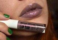 obsessive compulsive cosmetics (occ) lip tar rtw indrid swatch