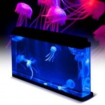 Idk why I want this ... but i do .  Jellyfish tank,novelty jellyfish tank,artificial jellyfish tank,sensory jellyfish ank,special needs jellyfish tank