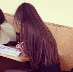 Imagem de hair, long, and long hair