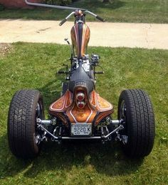 YTSKULT=BOBBERSCHOPPERSRIGIDSCUSTOMSMOTORCYCLESFTW Tricycle Motorcycle, Motorcycle Rallies, Motorcycle Clubs, Motorcycle Design, Custom Trikes, Custom Choppers, Custom Motorcycles, Trike Chopper, Old School Chopper