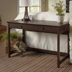 Darby Home Co Victoria Writing Desk & Reviews | Wayfair