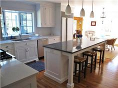 mobile kitchen islands with seating - Google Search