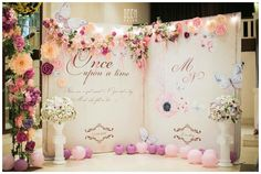Beautiful Backdrop #weddingday #weddingstyle #savethedate #bigday…