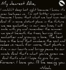The Notebook Letter