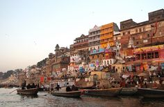 see the sunrise on the ganges