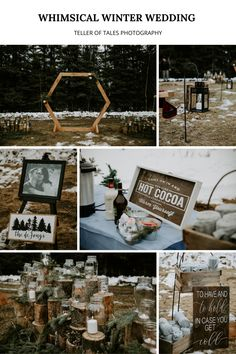 We loved this winter wedding in Edson, Alberta. Desire and Mark put so much thought and effort into making their day special - everything from hand-making decor items to handmaking their desserts! Diy Wedding, Wedding Ceremony, How To Make Decorations, Fuzzy Blanket, Hot Coffee, Theme Ideas, Stay Warm, Decorative Items, Blankets