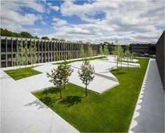 Grønnegaarden-Herning-High-School_01_photo-Jens-Lindhe « Landscape Architecture Works | Landezine