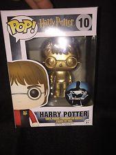 Funko Pop! Harry Potter #10 Harry Potter Custom Metallic Gold One-Of-A-Kind