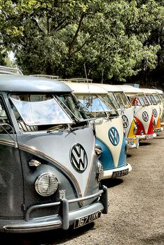 Colourful Campers