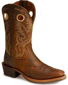 9054d52d567 Ariat Men s Heritage Roughstock Western Boots - Narrow Square Toe