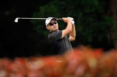 Angelo Que (PHI), leader of Round in action Golf Tour, Action, Tours, Group Action