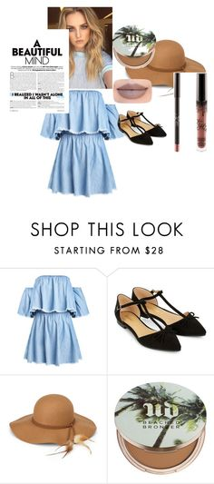 """""""kylie"""" by mercelago on Polyvore featuring moda, Accessorize, Steve Madden, Urban Decay i Jeffree Star"""