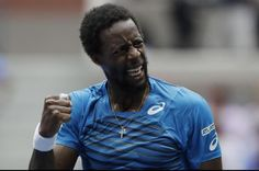 Top-seeded Gael Monfils advanced to the quarterfinals by posting a 6-1, 6-4 victory.