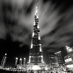 Big City Nightscapes – B/W-Photography (21 Photos) > Baukunst, Film-/ Fotokunst, Illustrationen > cities, Fotografie, nightscape, sw, skylines
