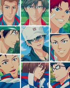 shin/new prince of tennis Prince Of Tennis Anime, Anime Prince, Manhwa Manga, Manga Anime, Tennis Match, Anime Poses, Kawaii Wallpaper, Live Action, Kawaii Anime