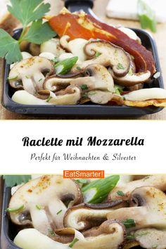 Mozzarella, Eat Smarter, Fondue, Green Beans, Stuffed Mushrooms, Meat, Chicken, Vegetables, Inspiration