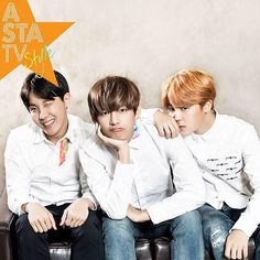 J-Hope, V ( Taehyung ), & Jimin - [IG] BTS -  astatvstyle sept issue