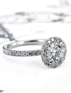 Primrose is THE perfect diamond halo. The secret of her beauty lies in Dana's light design touch; we believe that a ring's elegance often comes from the masterful execution of a timeless design, rather than implementing a bevy of changes and additions. Primrose features a seamless harmony between her setting and center stone, creating the illusion of one exquisite diamond. We added french cut details for a distinctive touch. Each ring is custom tailored to fit the exact dimensions of its…