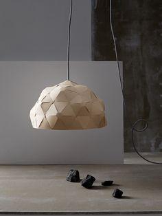 Krafla lightshade - by Jón Helgi Hólmgeirsson and Þorleifur Gunnar Gíslason for Børk