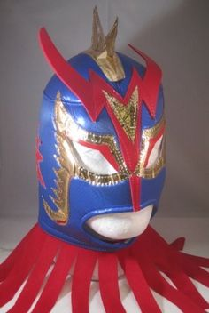 ULTIMO DRAGON Adult Lucha Libre Wrestling Mask (pro-fit) Costume Wear - Blue by Mask Maniac. $18.99. Mask is made out of a soft and light foamy material, comfortable and wearable for long periods of time.  Mask is intended for costume wear and light wrestling play.